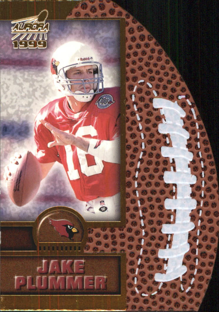 1999 Aurora Leather Bound #1 Jake Plummer