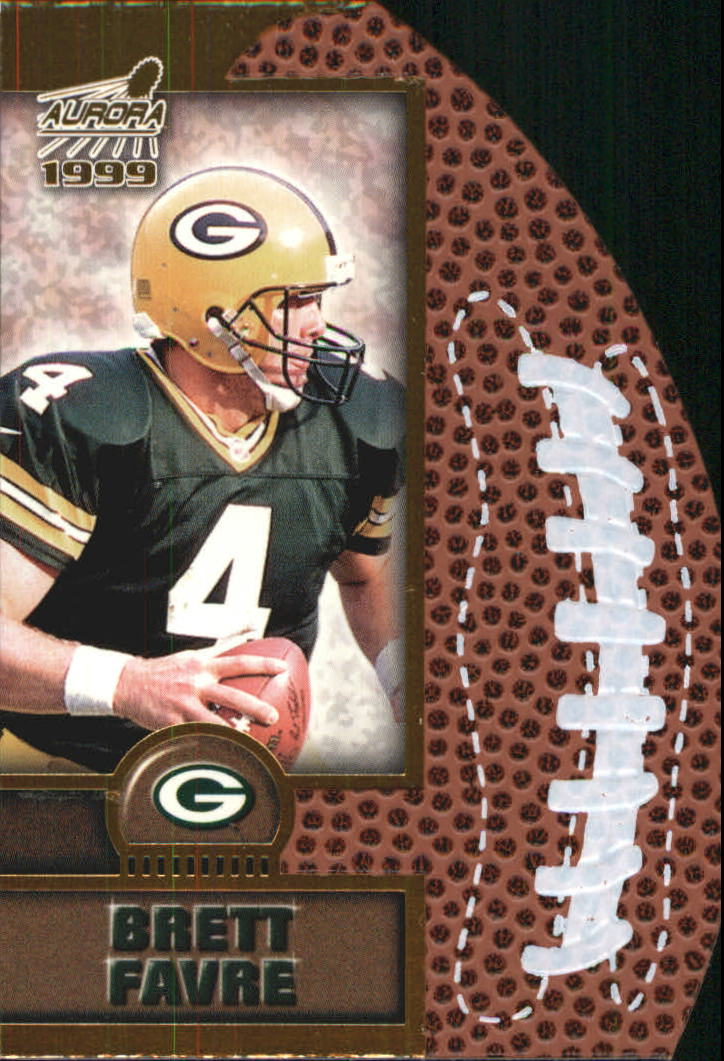 1999 Aurora Leather Bound #8 Brett Favre