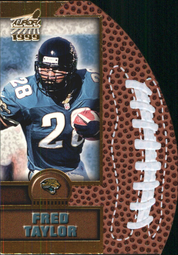 1999 Aurora Leather Bound #10 Fred Taylor