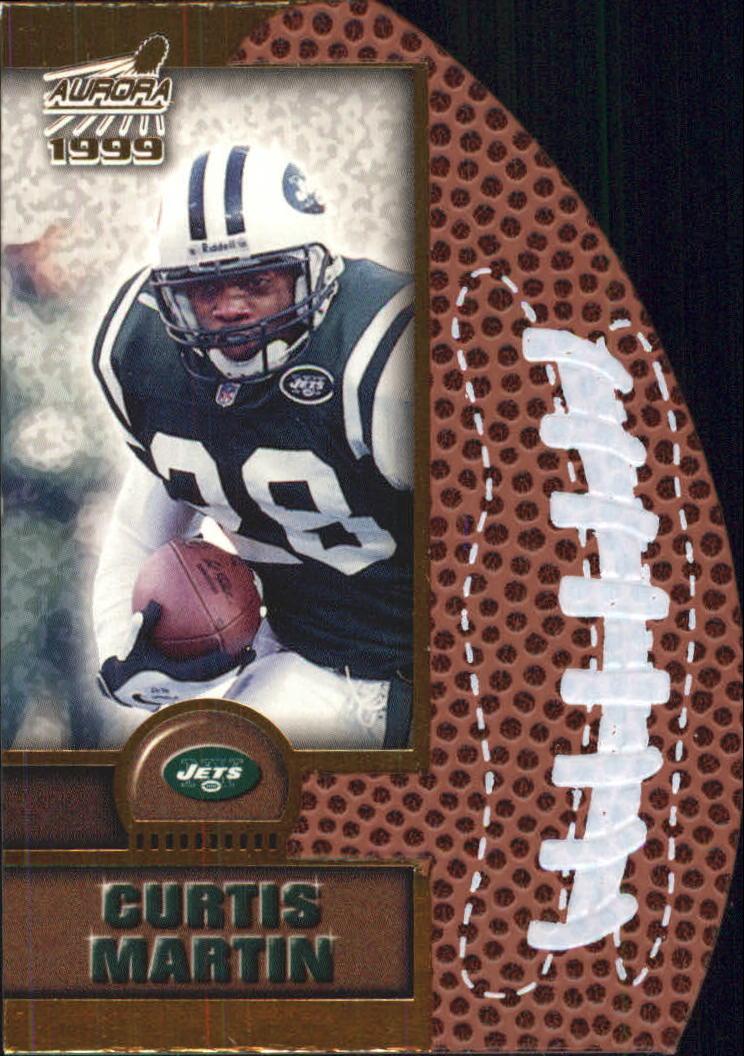 1999 Aurora Leather Bound #15 Curtis Martin