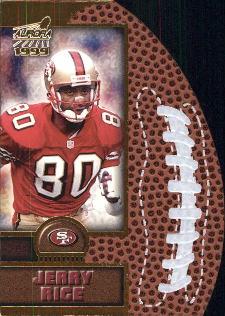1999 Aurora Leather Bound #17 Jerry Rice