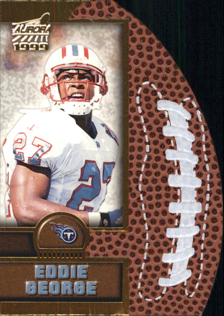 1999 Aurora Leather Bound #20 Eddie George
