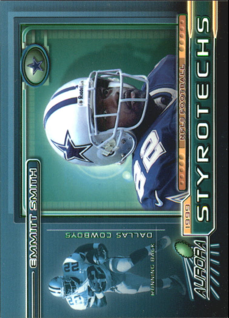 1999 Aurora Styrotechs #5 Emmitt Smith