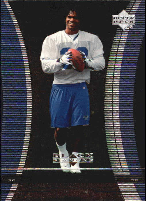 1999 Black Diamond #115 Edgerrin James RC