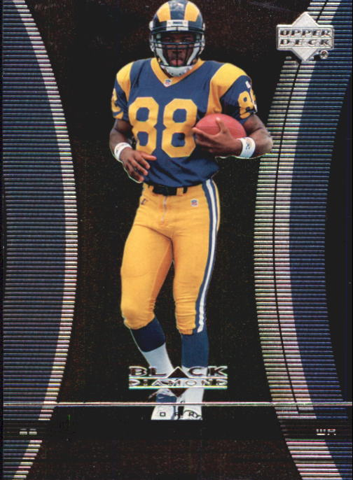 1999 Black Diamond #126 Torry Holt RC