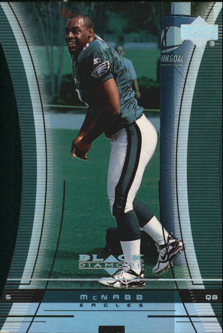 1999 Black Diamond Diamond Cut #114 Donovan McNabb