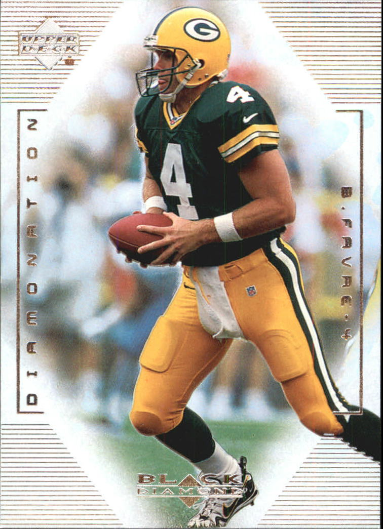 1999 Black Diamond Diamonation #D1 Brett Favre