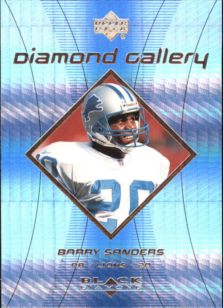 1999 Black Diamond Gallery #G2 Barry Sanders