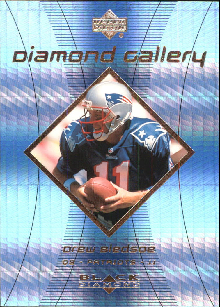 1999 Black Diamond Gallery #G4 Drew Bledsoe
