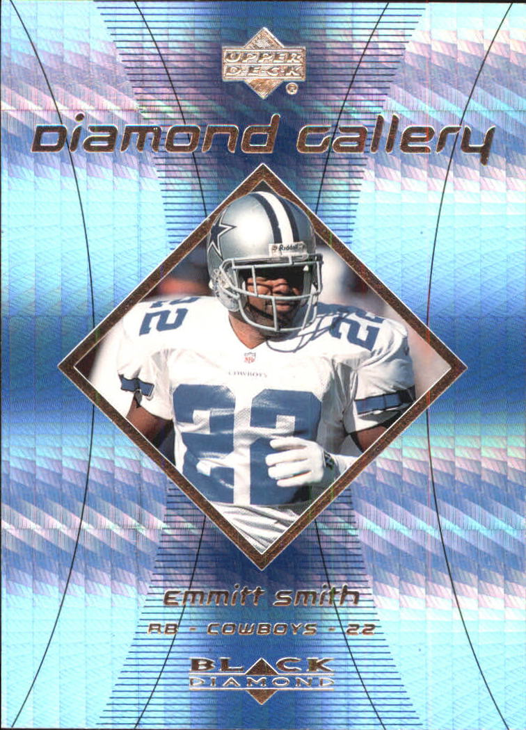 1999 Black Diamond Gallery #G5 Emmitt Smith front image