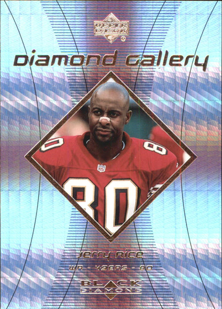 1999 Black Diamond Gallery #G7 Jerry Rice