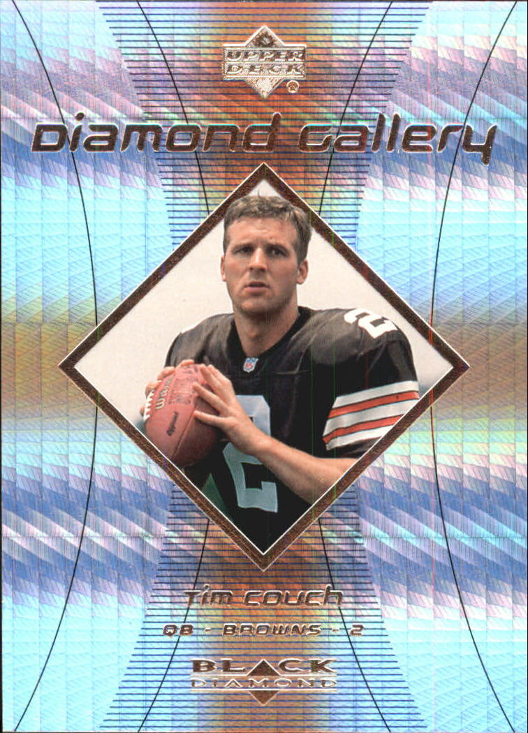 1999 Black Diamond Gallery #G8 Tim Couch