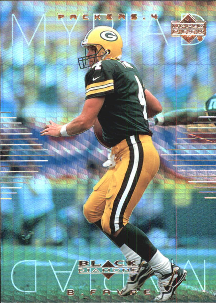 1999 Black Diamond Myriad #M4 Brett Favre