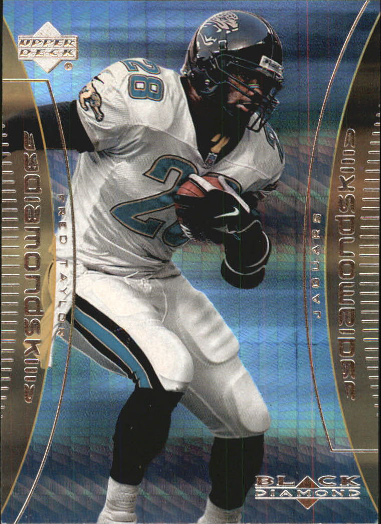 1999 Black Diamond Skills #S2 Fred Taylor