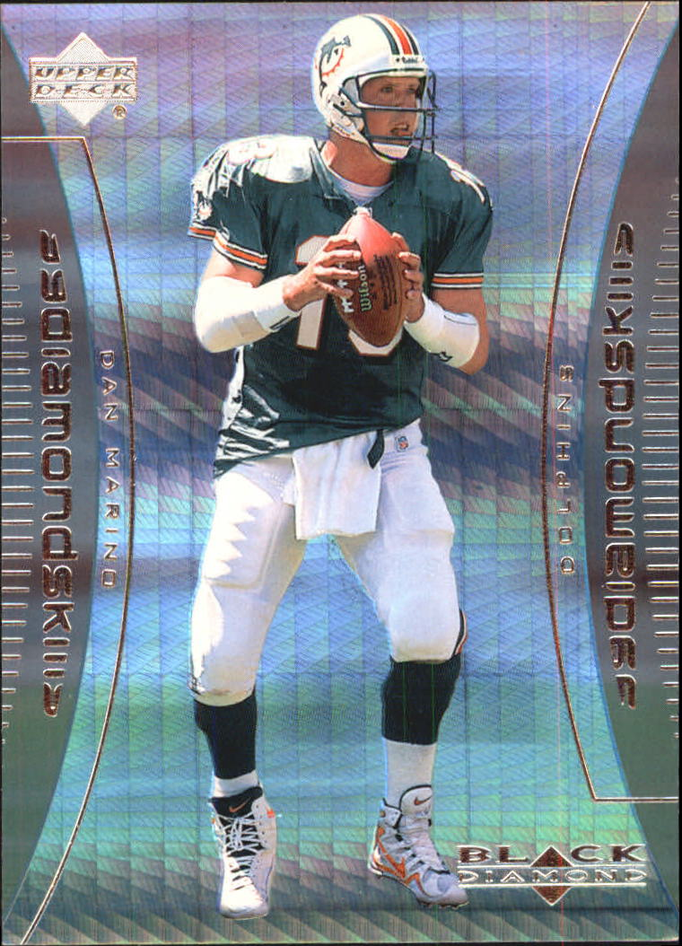 1999 Black Diamond Skills #S3 Dan Marino