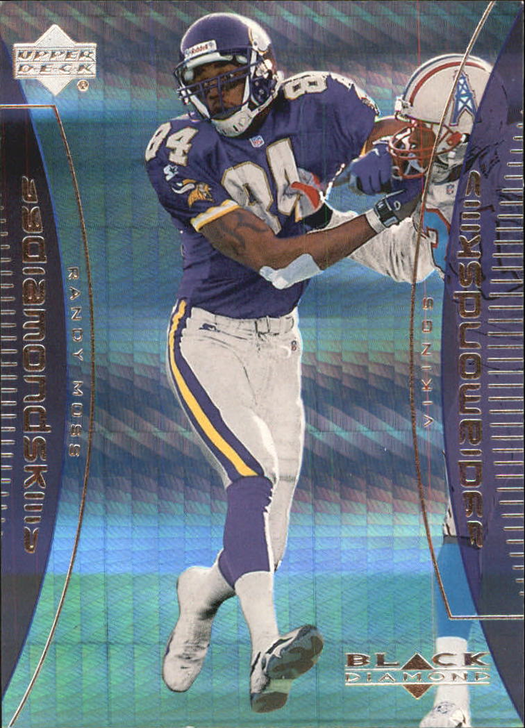 1999 Black Diamond Skills #S7 Randy Moss