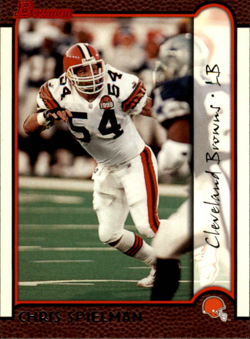1999 Bowman #13 Chris Spielman