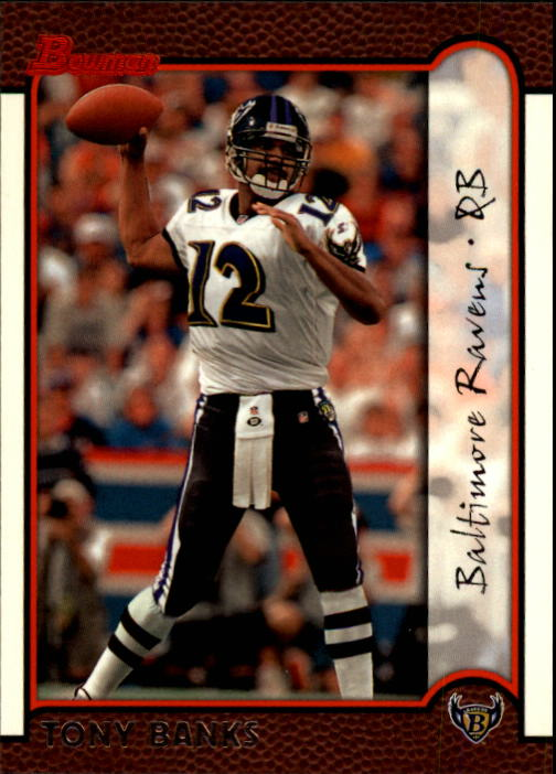 1999 Bowman #19 Tony Banks