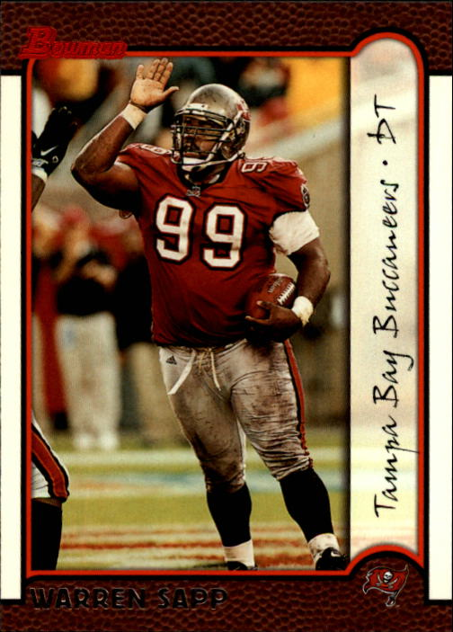 1999 Bowman #29 Warren Sapp
