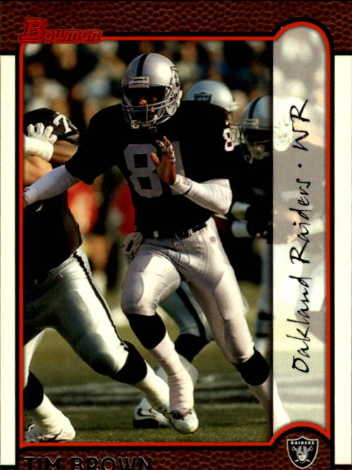 1999 Bowman #61 Tim Brown