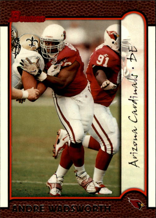 1999 Bowman #96 Andre Wadsworth