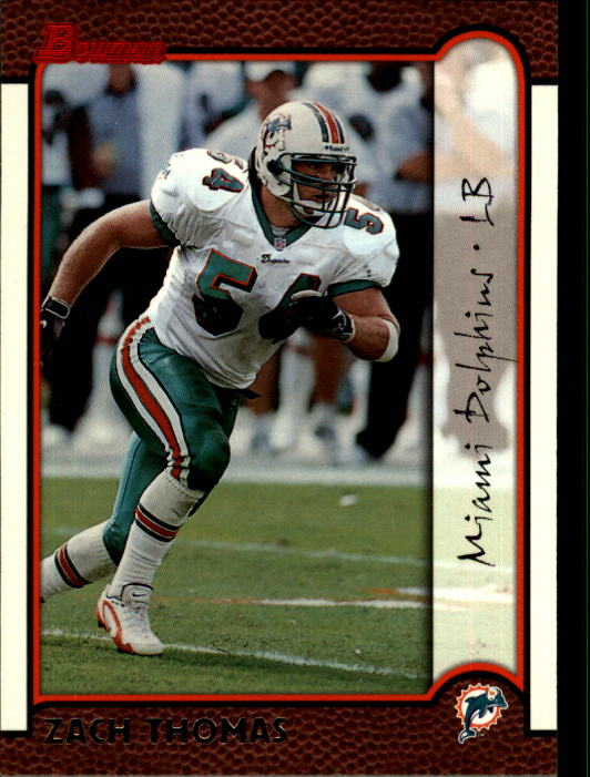 1999 Bowman #98 Zach Thomas