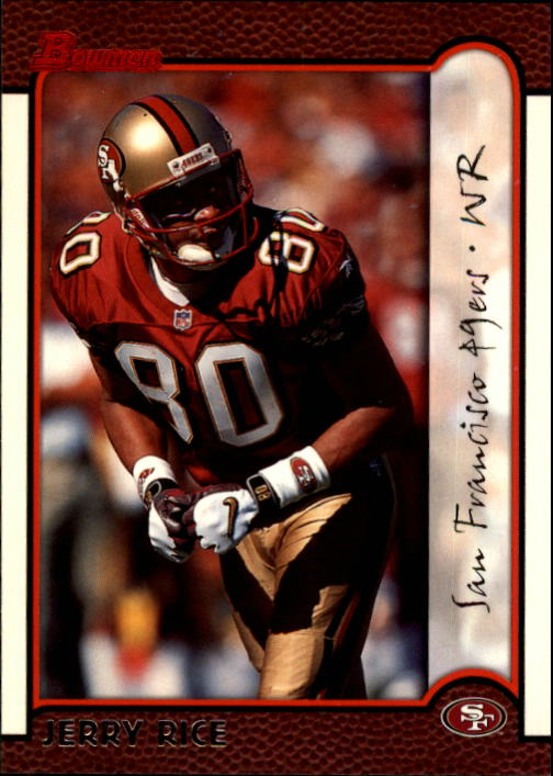 1999 Bowman #120 Jerry Rice