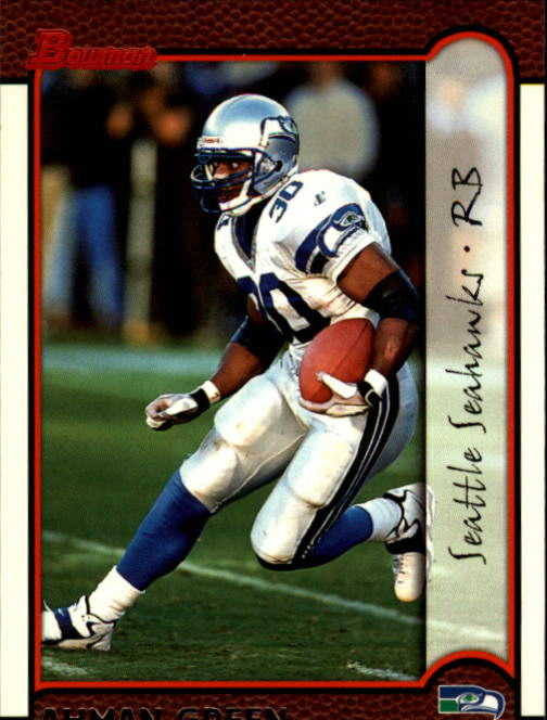 1999 Bowman #126 Ahman Green