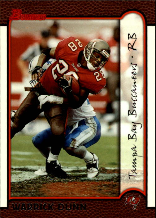 1999 Bowman #127 Warrick Dunn