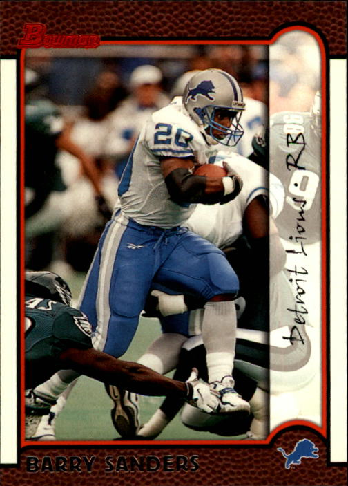 1999 Bowman #149 Barry Sanders