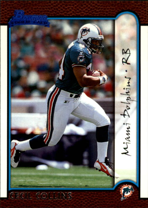 1999 Bowman #163 Cecil Collins RC