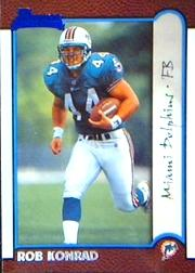 1999 Bowman #165 Rob Konrad RC