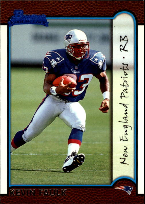 1999 Bowman #167 Kevin Faulk RC
