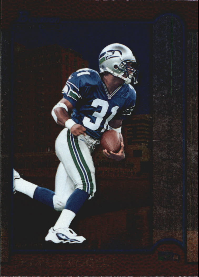 1999 Bowman Interstate #215 Darnell McDonald front image