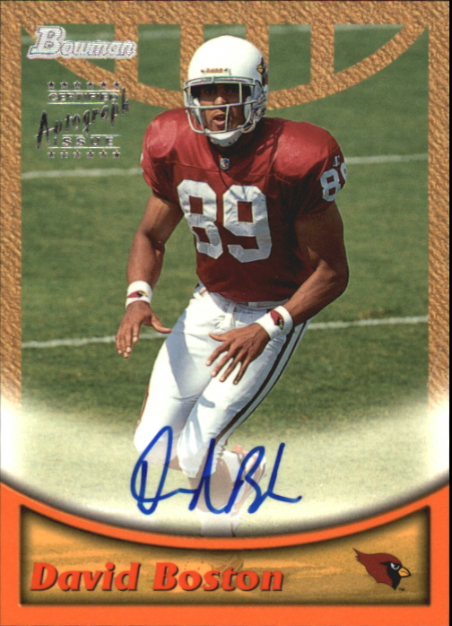 1999 Bowman Autographs #A10 David Boston S
