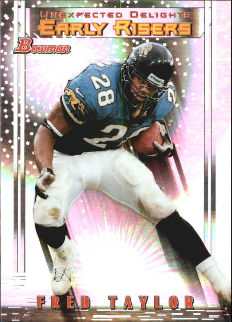 1999 Bowman Late Bloomers/Early Risers #U1 Fred Taylor