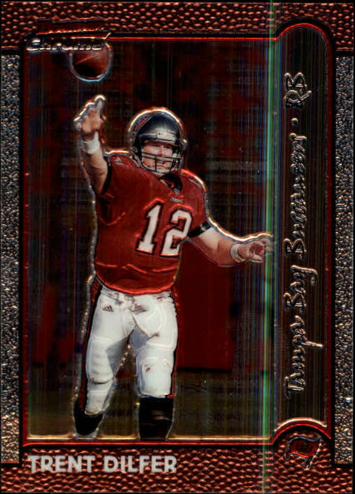 1999 Bowman Chrome #14 Trent Dilfer