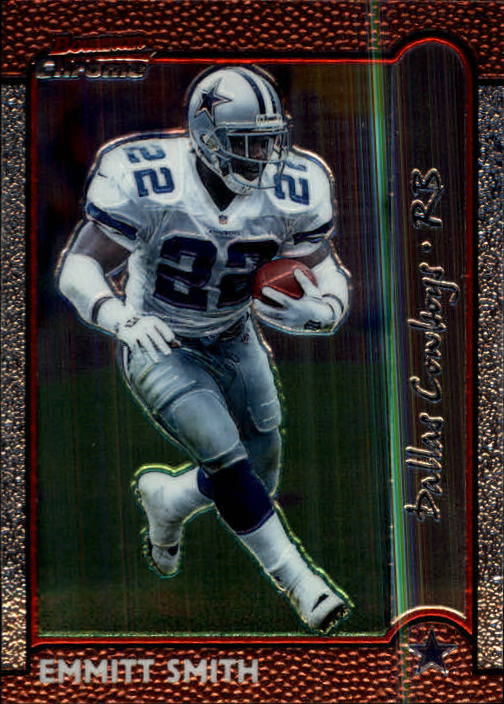 1999 Bowman Chrome #40 Emmitt Smith