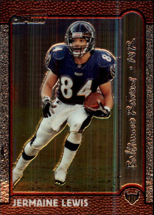1999 Bowman Chrome #55 Jermaine Lewis