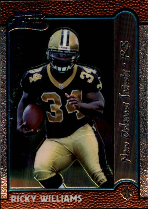 1999 Bowman Chrome #182 Ricky Williams RC