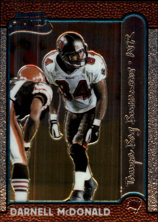 1999 Bowman Chrome #215 Darnell McDonald RC front image