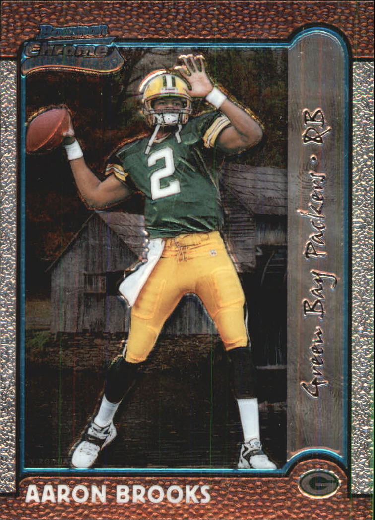 1999 Bowman Chrome Interstate #199 Aaron Brooks
