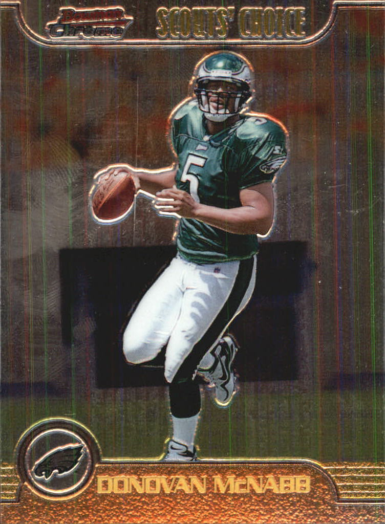 1999 Bowman Chrome Scout's Choice #SC14 Donovan McNabb