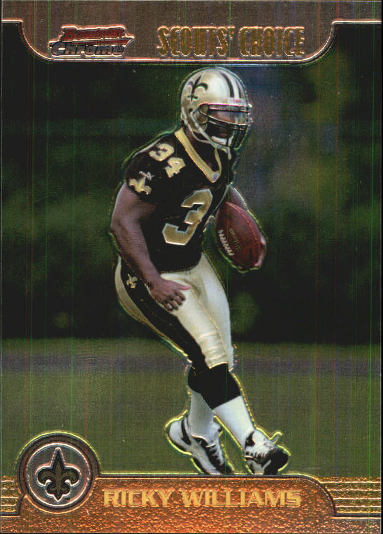 1999 Bowman Chrome Scout's Choice #SC18 Ricky Williams