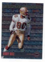 1999 Bowman Chrome Stock in the Game #S18 Jerry Rice front image
