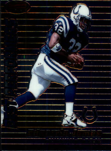 1999 Bowman's Best #98 Edgerrin James BP