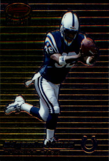 1999 Bowman's Best #115 Edgerrin James RC