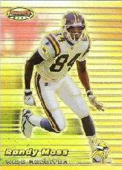1999 Bowman's Best Refractors #1 Randy Moss
