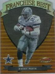 1999 Bowman's Best Franchise Best #FB3 Emmitt Smith