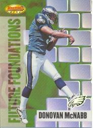 1999 Bowman's Best Future Foundations #FF3 Donovan McNabb